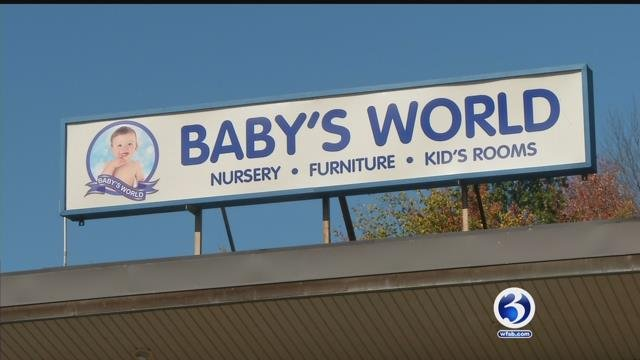 Customers said they are still waiting on deliveries after Baby's World closed in Southington this summer. (WFSB)