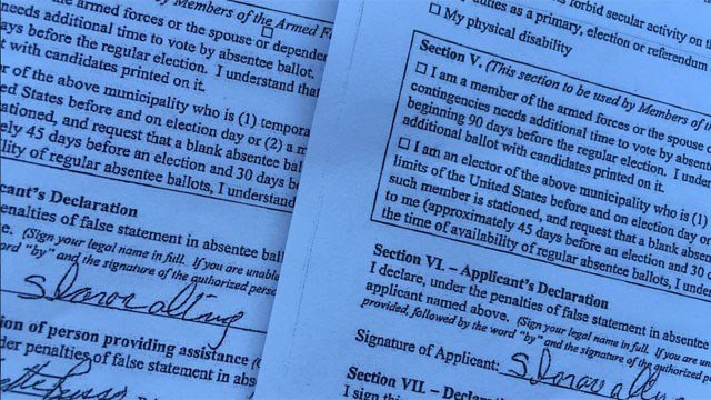 After accusations of forged absentee ballot apps, West Haven Mayor Ed O'Brien's campaign fired back on Friday. (WFSB)
