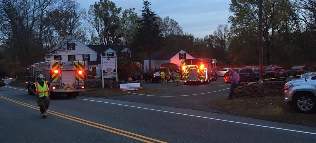 Several injured in Mansfield restaurant explosion (WFSB PHOTO)
