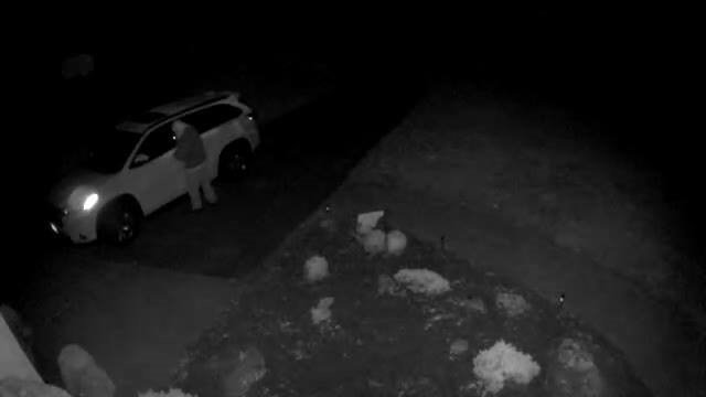 Police are looking for information about this vehicle burglary suspect. (Colchester police)