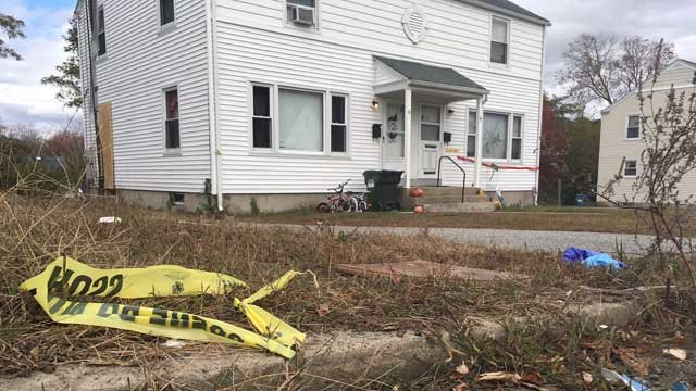 The attack happened at a home on Quarto Road in Norwich. (WFSB)
