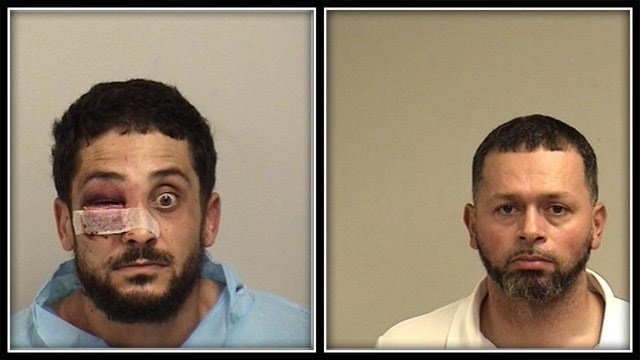 These two men were charged in the assault (Westport Police)