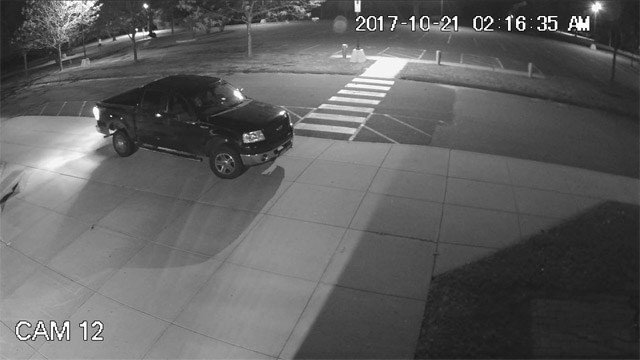 Police are looking to identify the person driving this truck (Coventry Police)
