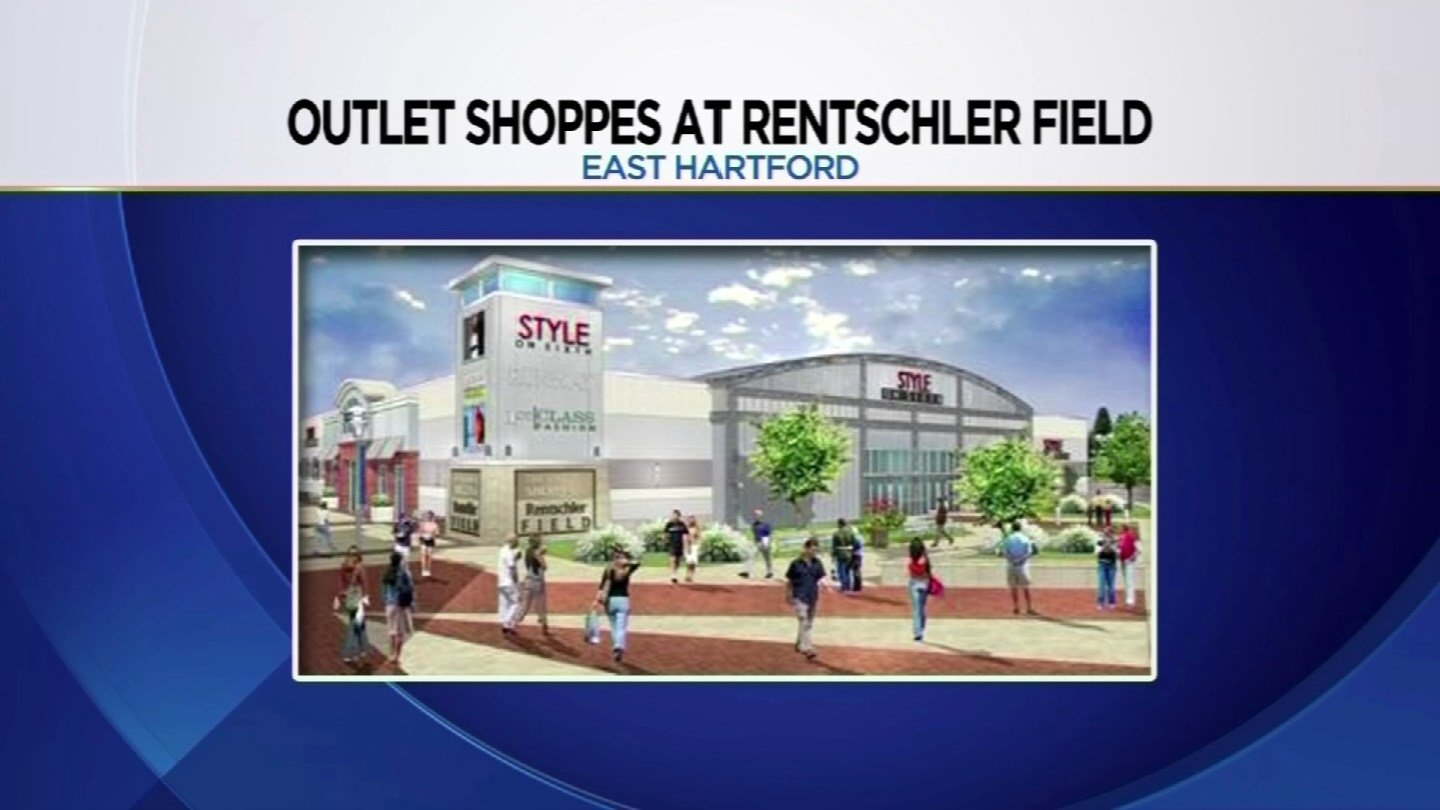 Here is a rendering of the Outlet Shoppes at Rentschler Field. (Town of East Hartford)