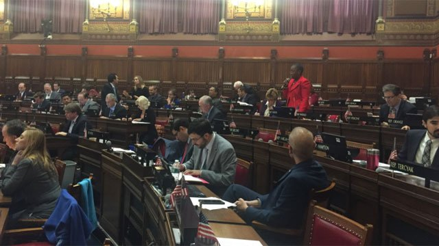The state House of Representatives convened at 10 a.m. on Thursday to vote on a state budget. (WFSB)