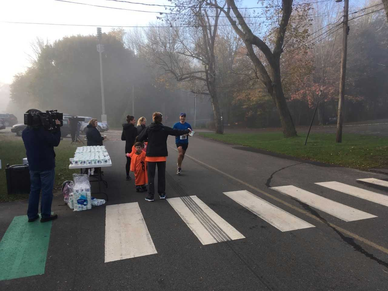 The Essex Steam Train half-marathon and relay was on Saturday and hundreds of runners participated in the 13.1 mile long race.