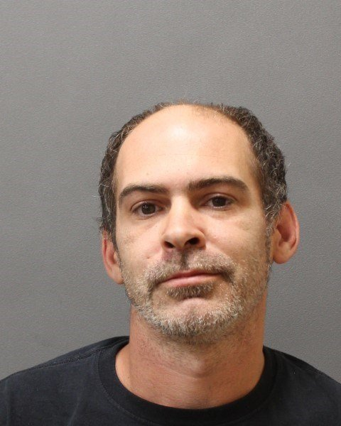 39-year-old Dustin P. Stewart of Moosup was arrested by Plainfield Police for drug possession and intent to sell. (Photo Courtesy of Plainfield Police Department)