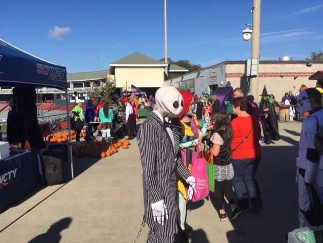 "The 7th Annual ""Spook-A-Thon"" was held at Dodd Stadium on Saturday to raise money for cancer."