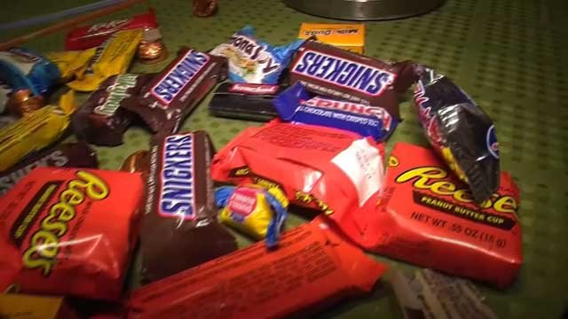 Police are investigating after a child was injured by Halloween candy (WFSB)