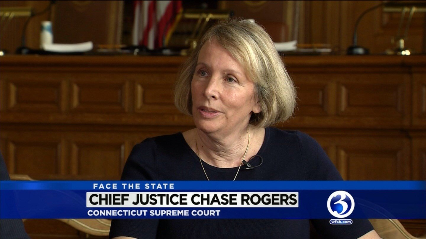 Chief Justice Chase Rogers to retire from CT Supreme Court. (WFSB File Photo)