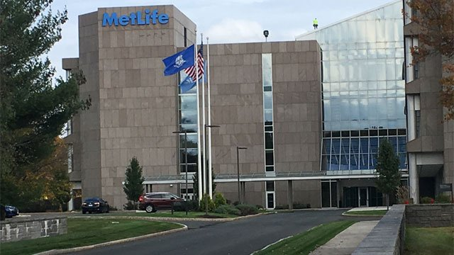 MetLife has eliminated 61 positions at its Bloomfield office. (WFSB)