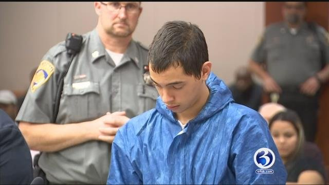 Noah Hendron during a previous court appearance. (WFSB file)