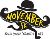Hundreds of people are expected to participate in the Hartford Marathon Foundation's Movember 5K Race that starts in Middletown on Sunday morning.