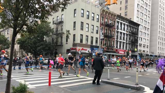 Thousands participated in Sunday's New York City Marathon (WFSB)