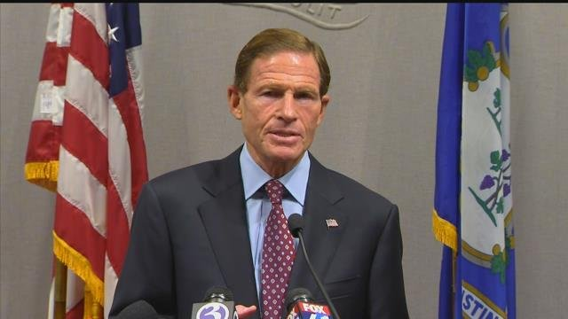 Sen. Richard Blumenthal. (WFSB file photo)