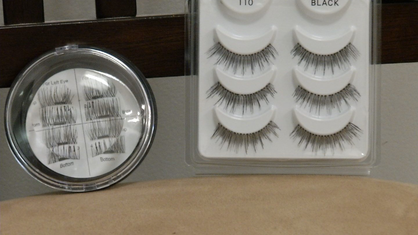 Magnetic eyelashes are a hot topic on the internet. (WFSB)