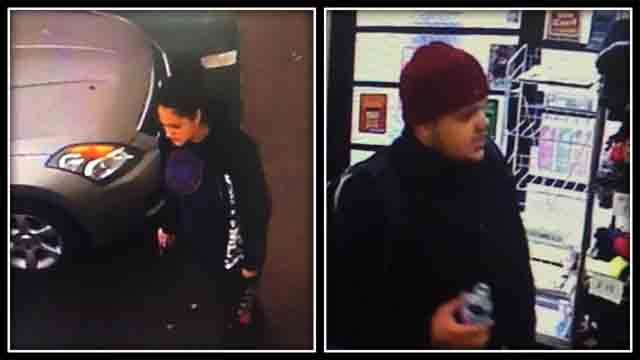 Anyone with information on these two people should contact Bristol Police (Bristol Police)