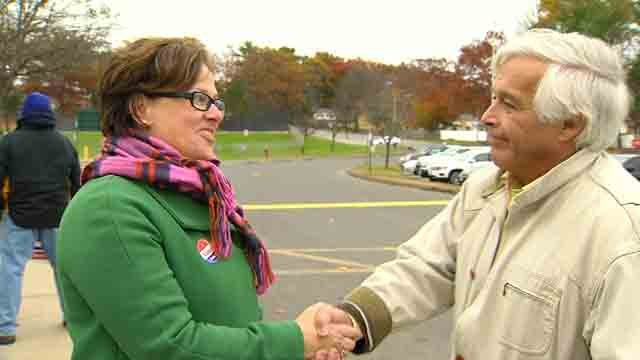Ellen Zoppo-Sassu is the first woman to be elected mayor in Bristol (WFSB)