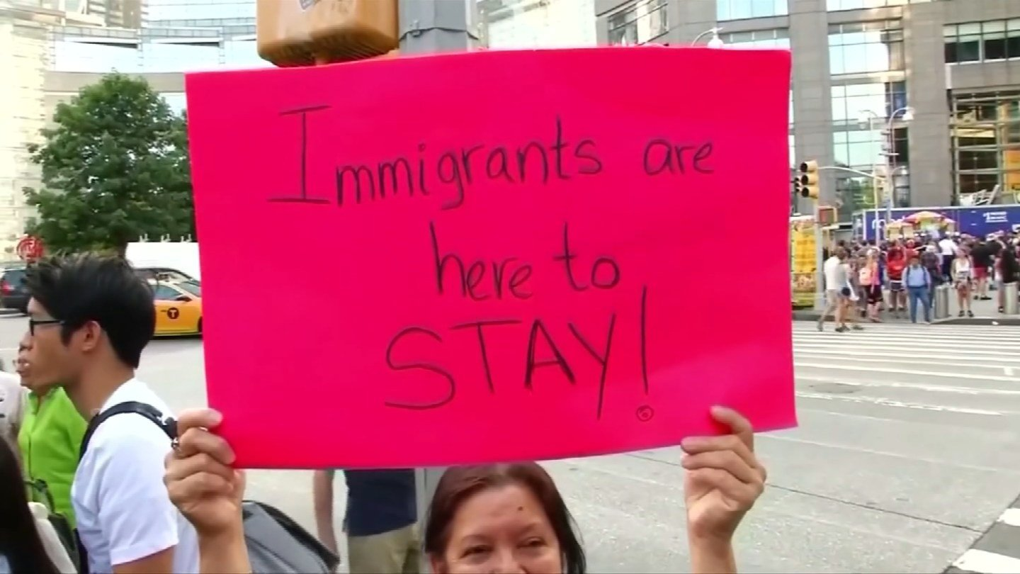 A recent DACA rally in New Haven (WFSB file)