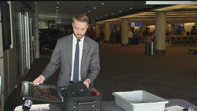 TSA officials are helping you get ready to travel this holiday season. (WFSB file photo)