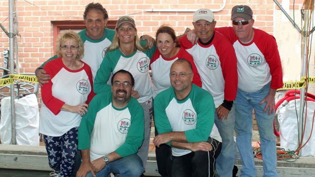 the Prince Thomas of Savoy Club in Avon broke a Guinness world record for longest marathon bocce playing team. (Club photo)