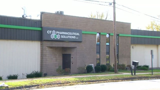 The owner of Connecticut Pharmaceutical Solutions was arrested for taking marijuana out of the facility. (WFSB)