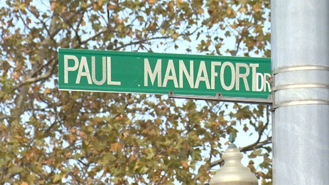 There is a petition to change the name of Manafort Drive in New Britain. (WFSB)