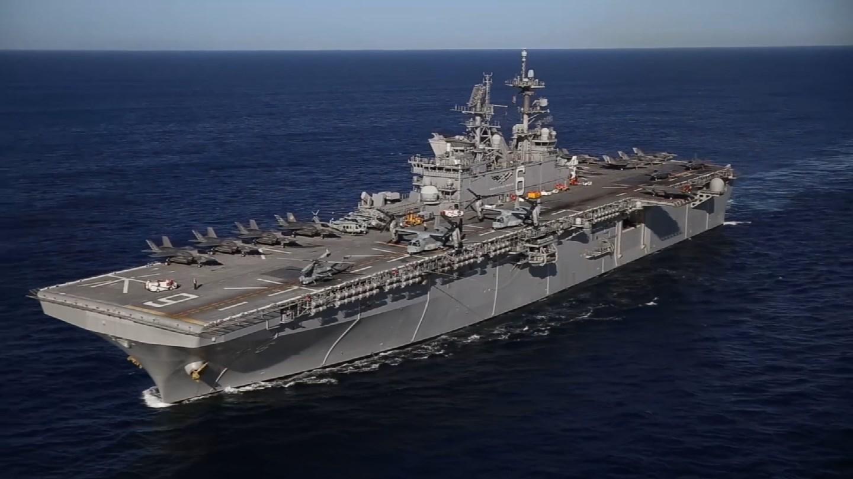 The USS Harry S. Truman. (NAVY)