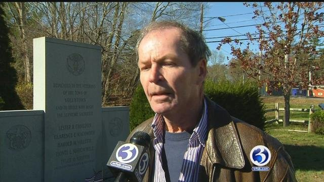 Ken Large  is leading an effort to have a Veterans' Day Parade in Hartford on Saturday morning. (WFSB)