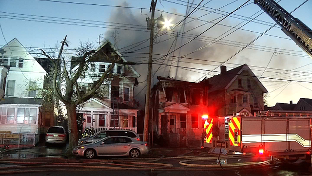 The New Haven Fire Department responded to a residential fire on Howard Avenue around 5 a.m. on Saturday morning. (WFSB)