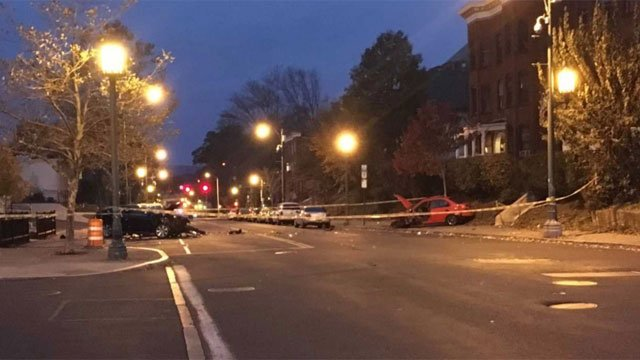 A 70-year-old woman is in critical condition after being involved in an accident on Park and Zion Streets around 2:40 a.m. on Sunday morning. (WFSB)
