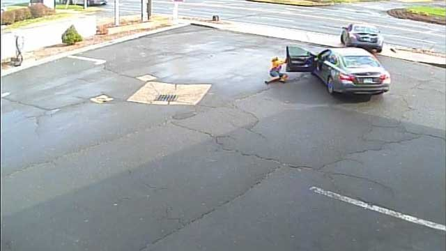 A woman was dragged after a carjacking in Windsor Locks. (Windsor Locks Police Department)