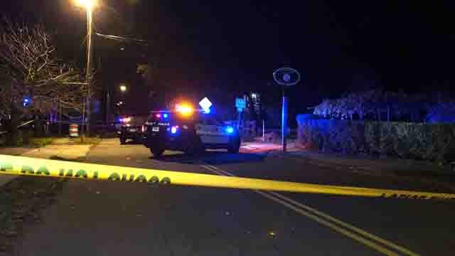Police in Hamden are still investigating a shooting that left one person injured on Monday (WFSB)