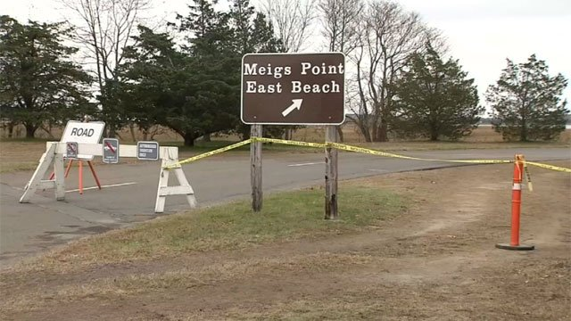 With construction work at Hammonasset State Park, people will still be able to access the beach at the Meigs Point.   (WFSB)