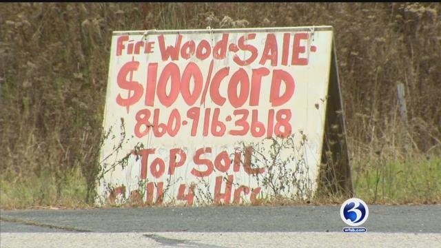 A Stafford family is waiting on a firewood delivery months after putting down a deposit (WFSB)