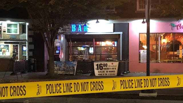 A bartender at BAR was shot during a robbery on Tuesday (WFSB)