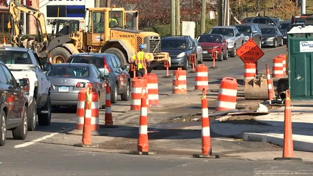 The construction on Route 6 in Bristol is causing headaches for drivers (WFSB)