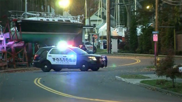 An 'emotionally disturbed' man prompted evacuations on High Street in Milford on Friday. (WFSB)