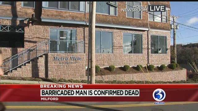 VIDEO: 'Emotionally disturbed' man who prompted evacuations found dead in Milford apartment