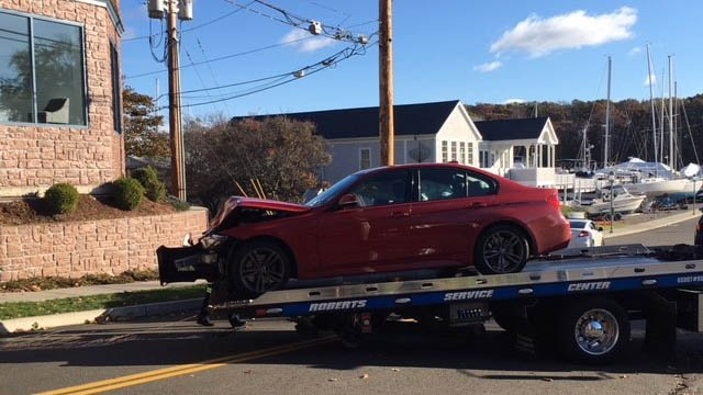 Investigators said the situation stemmed from nearby a car crash that they were looking into earlier in the morning. (WFSB)