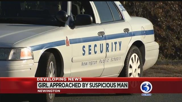 VIDEO: No threat to Newington community after report of suspicious vehicle