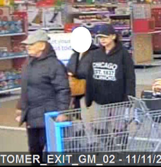 Two suspects wanted for a theft from Walmart.  (Waterford Police)