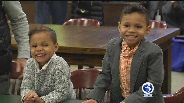 VIDEO: Families celebrate adoption day in CT