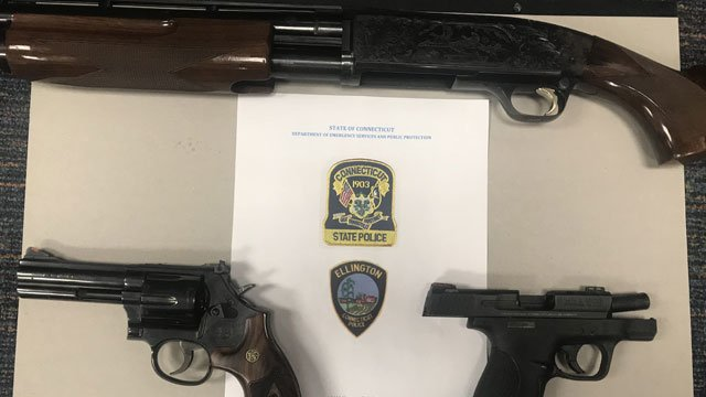 The following items were seized from Alexander Czaja. (CT State Police)