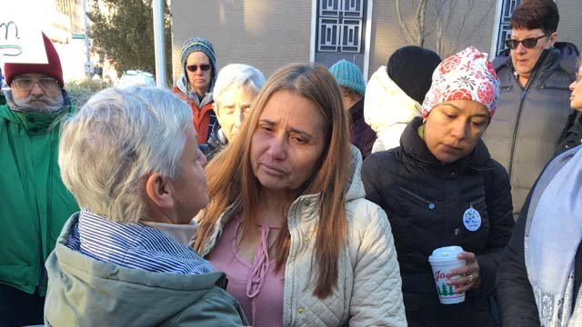 Miriam Martinez, who's lived in the U.S. for 25 years, is scheduled to be deported on Monday at 3 p.m. (WFSB)