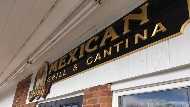 Jalisco Mexican Grill & Cantina in Glastonbury. (WFSB)