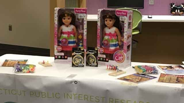 ConnPIRG unveiled it's 2017 Trouble in Toyland report on Tuesday. (WFSB)