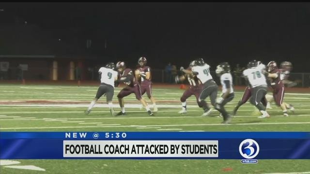 Video: CREC football coach attacked by players at potluck dinner in Enfield