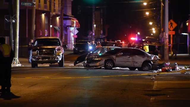 A 3-year-old was killed, and four others were injured in a Waterbury crash on Tuesday (WFSB)
