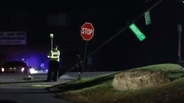 Two people are dead after crash in Waterbury on Wednesday morning. (WFSB)